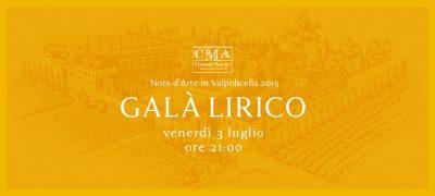 Note d'Arte in Valpolicella - Gala Lirico