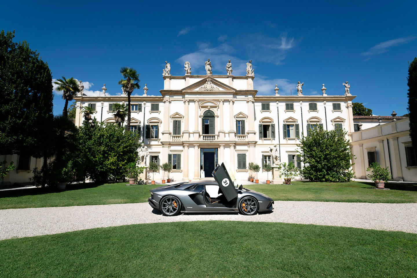 Lamborghini Automobili at Villa Mosconi Bertani