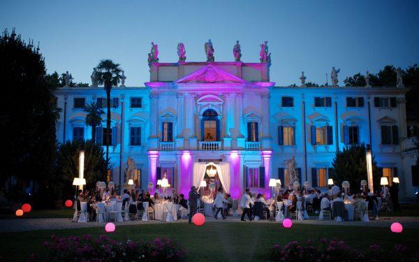 Villa Mosconi Bertani - Matrimoni - Giardino Anteriore