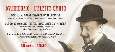 """D'Annunzio """"L'Eletto Canto"""""""