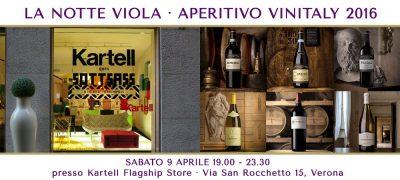 La Notte Viola - Aperitivo VinItaly 2016