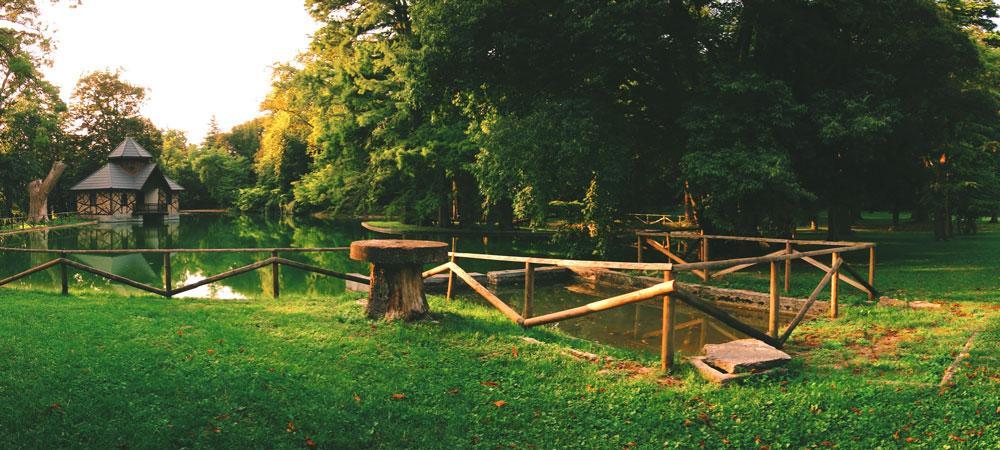 Villa Mosconi Bertani - Laghetto - Parco dei Poeti