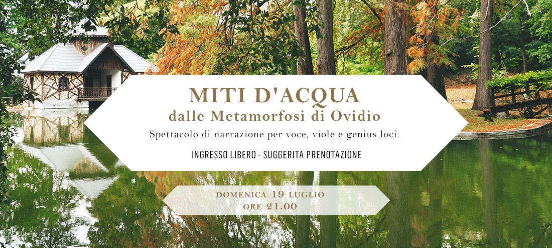 Miti d'Acqua dalle Metamorfosi di Ovidio