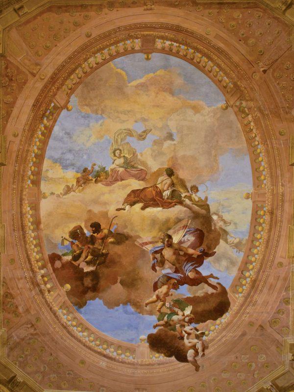 Salone delle Muse - soffitto