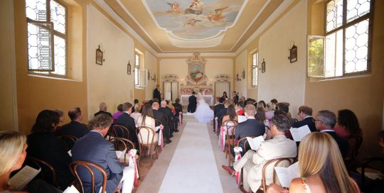 Villa Mosconi Bertani - La Chiesa di San Gaetano