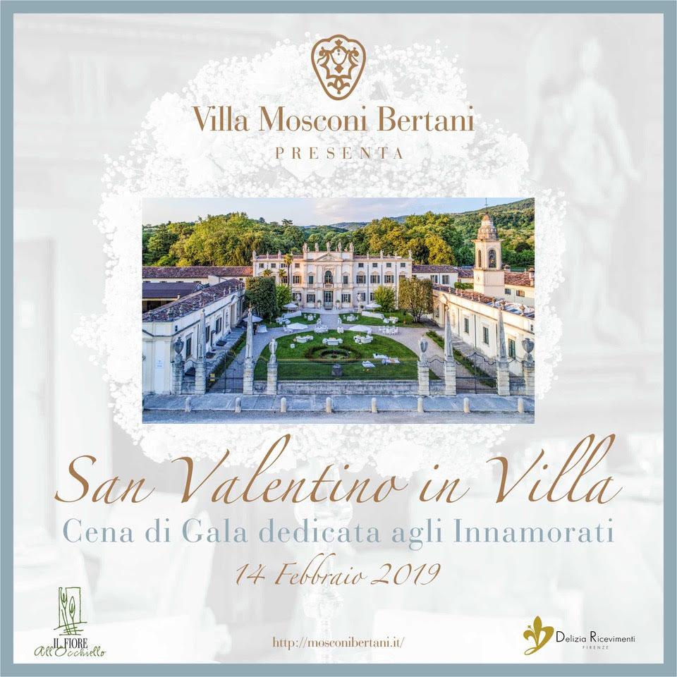 San Valentino - Cena di Gala - Villa Mosconi Bertani